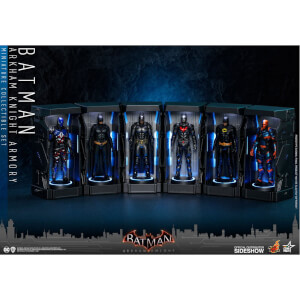 Hot Toys DC Comics Batman: Arkham Knight Miniature Collectible Set Armory 12 cm