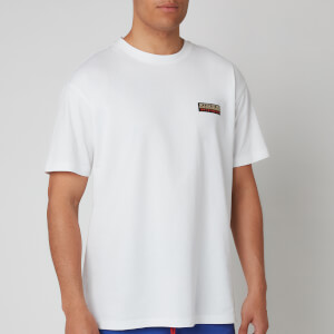 Napapijri Men's Sase Short Sleeve 1 Chest Logo T-Shirt - Bright White