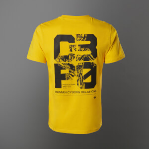 T-Shirt Star Wars C3-P0 - Giallo - Unisex