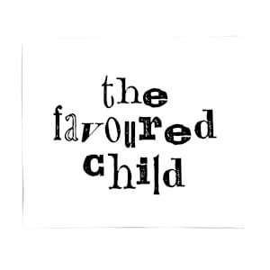 The Favoured Child Fleece Blanket