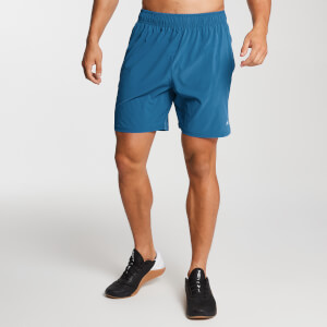 Essential Lightweight Woven Training Shorts - Pilotblå