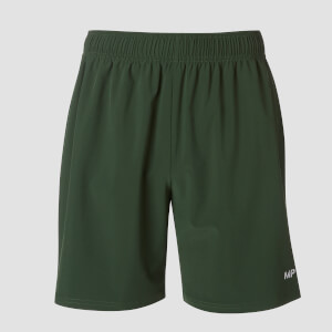 Essential Lightweight Woven Training Shorts - Hunter Green