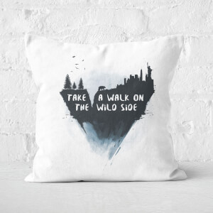 Walk On The Wild Side Cushion Square Cushion