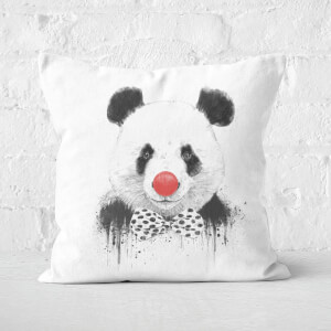 Clown Panda Cushion Square Cushion