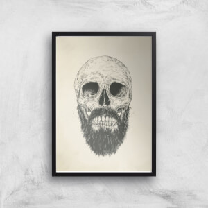 The Beard Is Not Dead Print Giclee Art Print