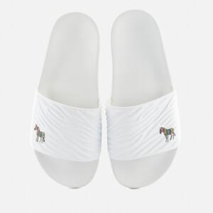 PS Paul Smith Men's Summit Slide Sandals - White