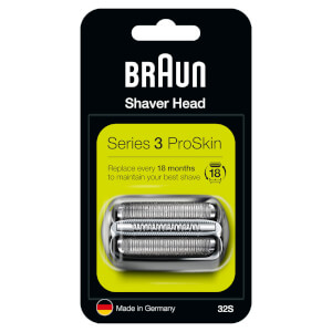 Series 3 32S Electric Shaver Head Replacement - Silver