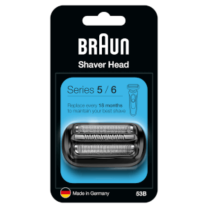 Series 5 53B Electric Shaver Head Replacement - Black