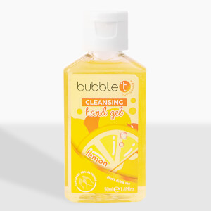 Bubble T Hand Cleansing Gel - Lemon 50ml