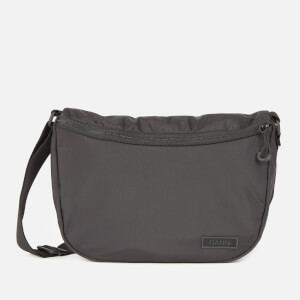 Ganni Women's Recycled Tech Fabric Sling Bag - Black