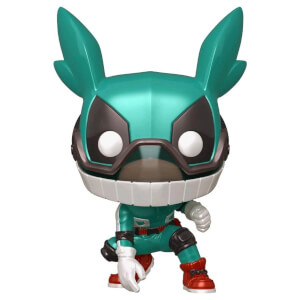 My Hero Academia Deku with Helmet Metallic EXC Funko Pop! Vinyl
