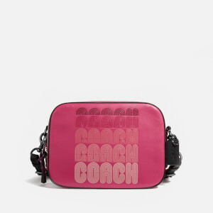 Coach Women's C Print Camera Bag - Bright Cherry Multi