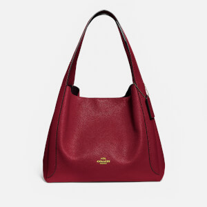 Coach Women's Hadley Hobo Bag - Deep Red