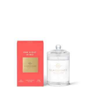 Glasshouse Fragrances One Night InRio Candle 60g