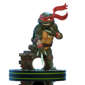 Figurine Q-Fig Tortues Ninja Raphael 13 cm - Quantum Mechanix