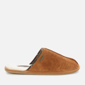 Barbour Men's Malone Suede Slippers - Camel Suede