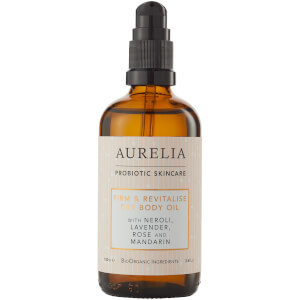 Aurelia Probiotic Skincare Firm and Revitalise Dry Body Oil 3.4 oz