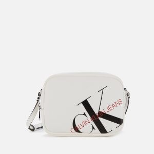 Calvin Klein Jeans Women's Logo Camera Bag - Bright White