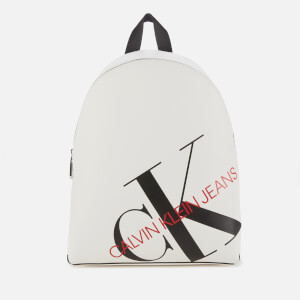 Calvin Klein Jeans Women's Logo Backpack - Bright White
