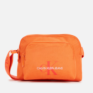 Calvin Klein Jeans Women's Nylon Camera Bag - Mandarin