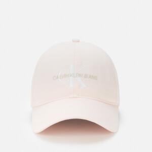 Calvin Klein Jeans Women's Monogram Logo Cap - Crystal Pink