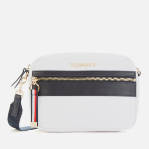 Tommy Hilfiger Women's Nylon Crossover Bag - Bright White