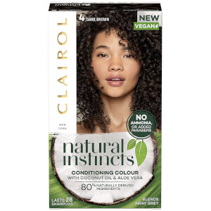 Clairol Natural Instincts Semi-Permanent No Ammonia Vegan Hair Dye 177ml (Various Shades)