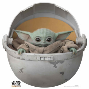 The Mandalorian - The Child Baby Yoda In Pod Mini Cardboard Cut Out