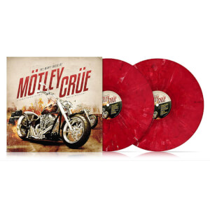 The Many Faces Of Mötley Crüe 2x Red LP