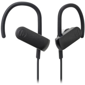 Audio Technica Bluetooth Sports Headphones - Black