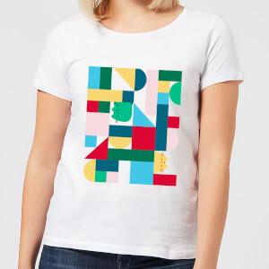 Pusheen Geometric Women's T-Shirt - White