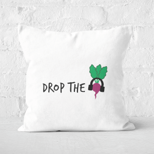 Drop The Beet Square Cushion