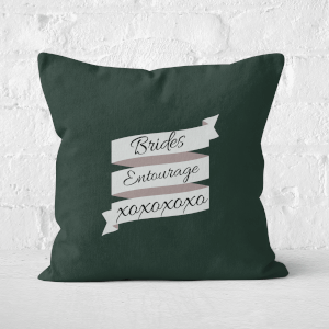 Brides Entourage Square Cushion