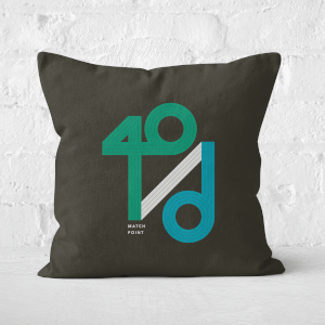 40 / D Match Point Square Cushion