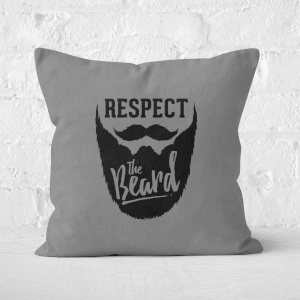Respect The Beard Square Cushion