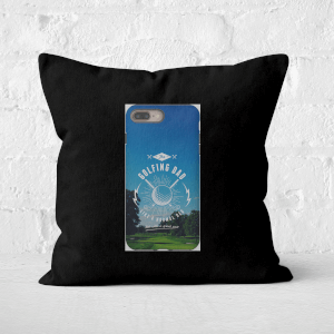 Golf Dad Phone Case Square Cushion