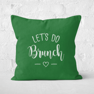 Lets Do Brunch Square Cushion
