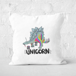 DinoUnicorn Square Cushion