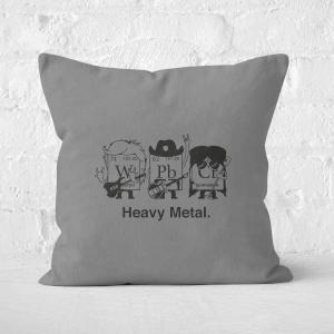 Heavy Metal Square Cushion