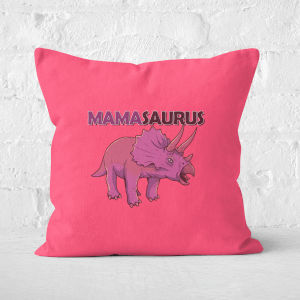 Mama Saurus Square Cushion