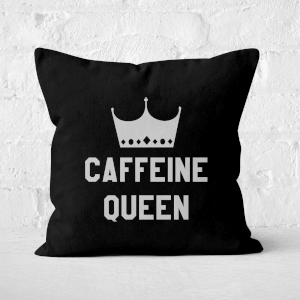 Caffeine Queen Square Cushion