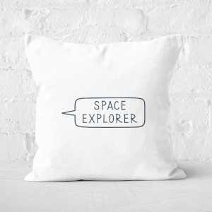 Space Explorer Square Cushion