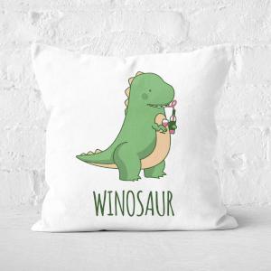 Winosaur Square Cushion
