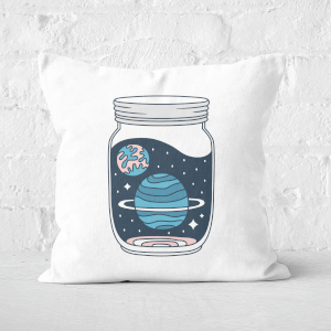 Space Jar Square Cushion