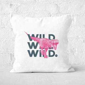 Wild Dinosaur Square Cushion