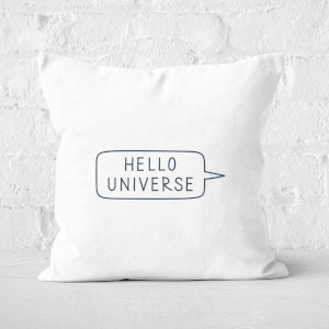 Hello Universe Square Cushion