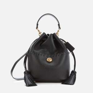 Coach Women's Whipstitch Lora Bucket Bag - Black