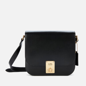Coach Women's Hutton Saddle Bag - Black