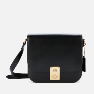 Coach Women's Hutton Saddle Bag - Black