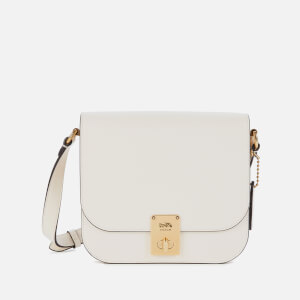 Coach Women's Hutton Saddle Bag - Chalk